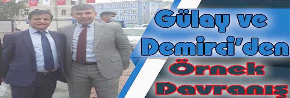 Gülay ve Demirci'den Örnek Davranış