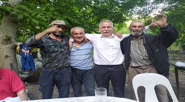 Türkali Köyünü Ziyaret Etti