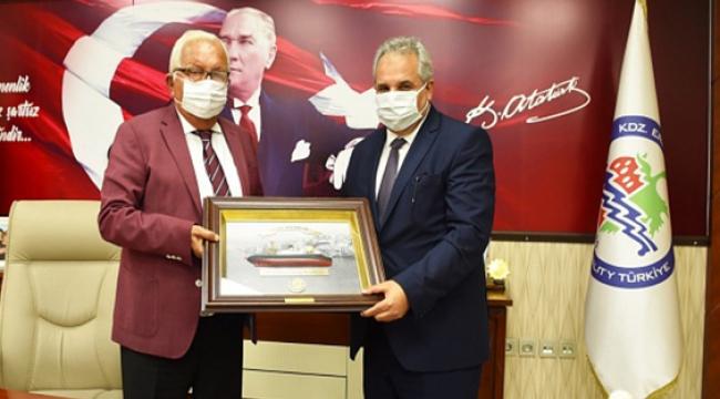Kaymakam Başkan Posbıyık'ı Ziyaret Etti